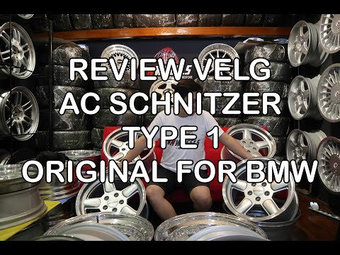 REVIEW VELG AC SCHNITZER TYPE 1 ORIGINAL + STOCK UPDATE | KNWHEELS | KNWHEELS REVIEW