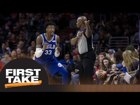 Stephen A. Smith blames NBA refs for tensions with players | First Take | ESPN