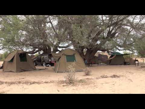 Tourists camps in Angola
