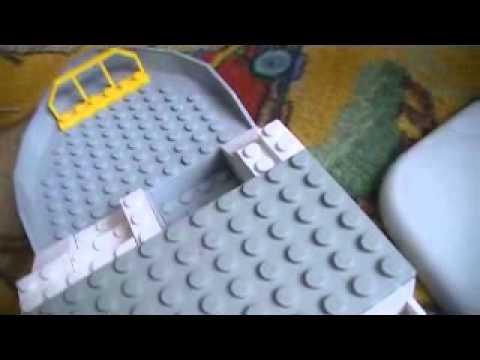 how to make lego olimars ship