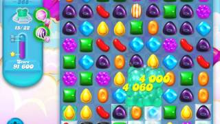 Candy Crush Soda Saga Level 368 (nerfed, 3 Stars)