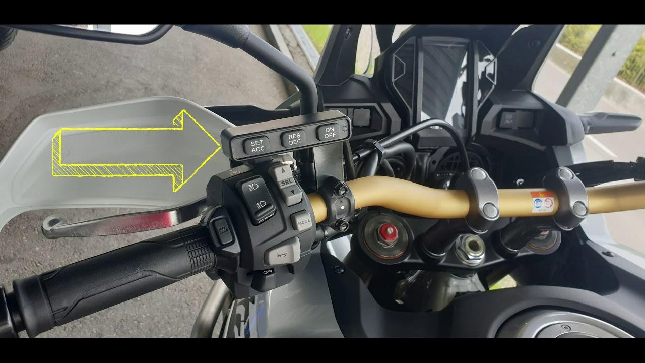 TEMPOMAT CRF1000 AFRICA TWIN | haller motos