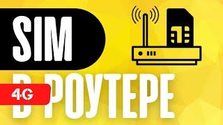 4G-GSM Роутер с Сим-картой - Для Дома и Дачи | Zyxel LTE5366-M608 с SIM картой 4G LTE
