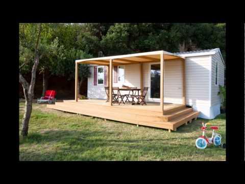 Verande per case mobili terrazze per casa mobile ecototo - Case in legno mobili ...