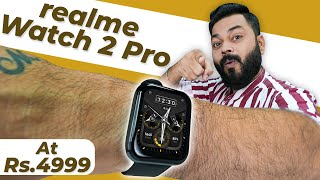 """realme Watch 2 Pro Unboxing & First Impressions ⚡ 1.75"""" Display, SpO2, GPS, 14 Days Battery & More"""