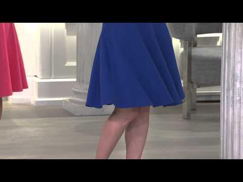 Denim & Co. Perfect Jersey Sleeveless Drop Waist Dress with Carolyn Gracie