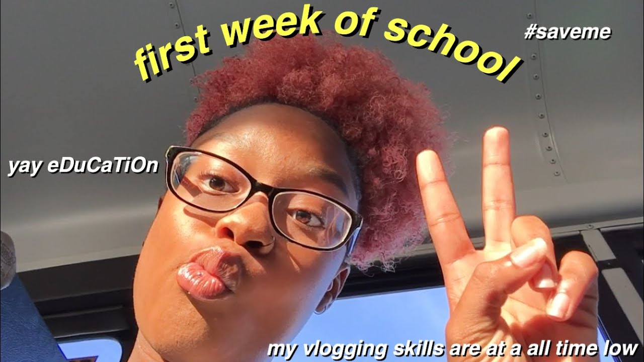 FIRST WEEK OF HIGH SCHOOL VLOG | 2019