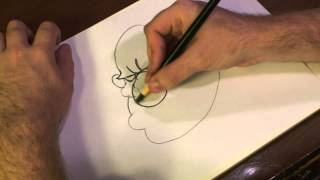 How to Draw Scary Clown Masks