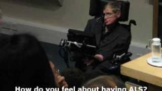 My Experience of Having ALS - Stephen Hawking