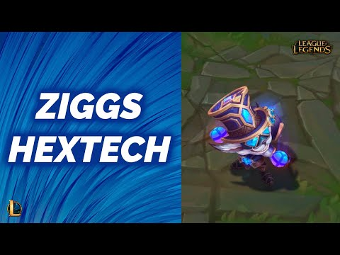 Hextech Ziggs | Pre-Release - League of Legends