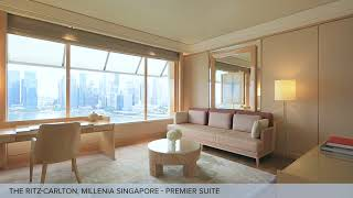 Premier Suite at The Ritz-Carlton, Millenia Singapore