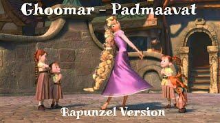 Ghoomar - Padmaavat |Animated Song | Rapunzel Kingdom Dance