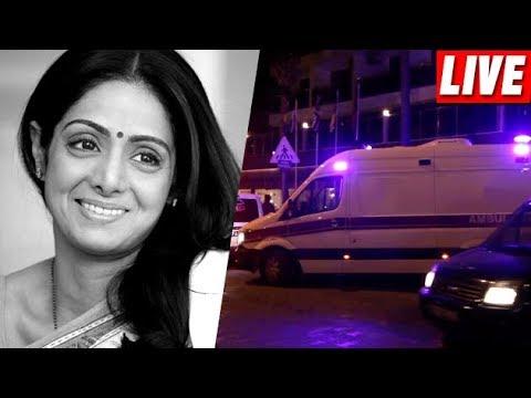 Sridevi's Body Arrives At Mumbai Airport LIVE