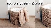 DIY - Halat Sepet yapımı / Rope Basket