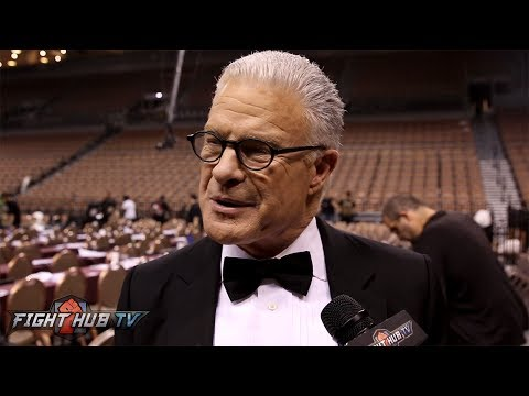 Jim Lampley 'WARD CANT COMPETE AT HEAVYWEIGHT! I DONT SEE HIM GOING IN AGAINST ANTHONY JOSHUA!""