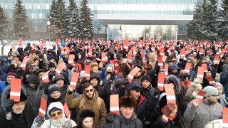 Пермь. Собрание избирателей для выдвижения Алексея Навального в Президенты РФ.