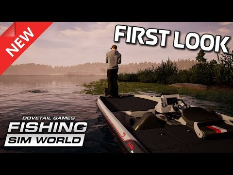 FISHING SIM WORLD (Dovetail Games) | PRE-RELEASE GAMEPLAY