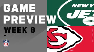 New York Jets vs. Kansas City Chiefs   NFL Week 8 Game Preview