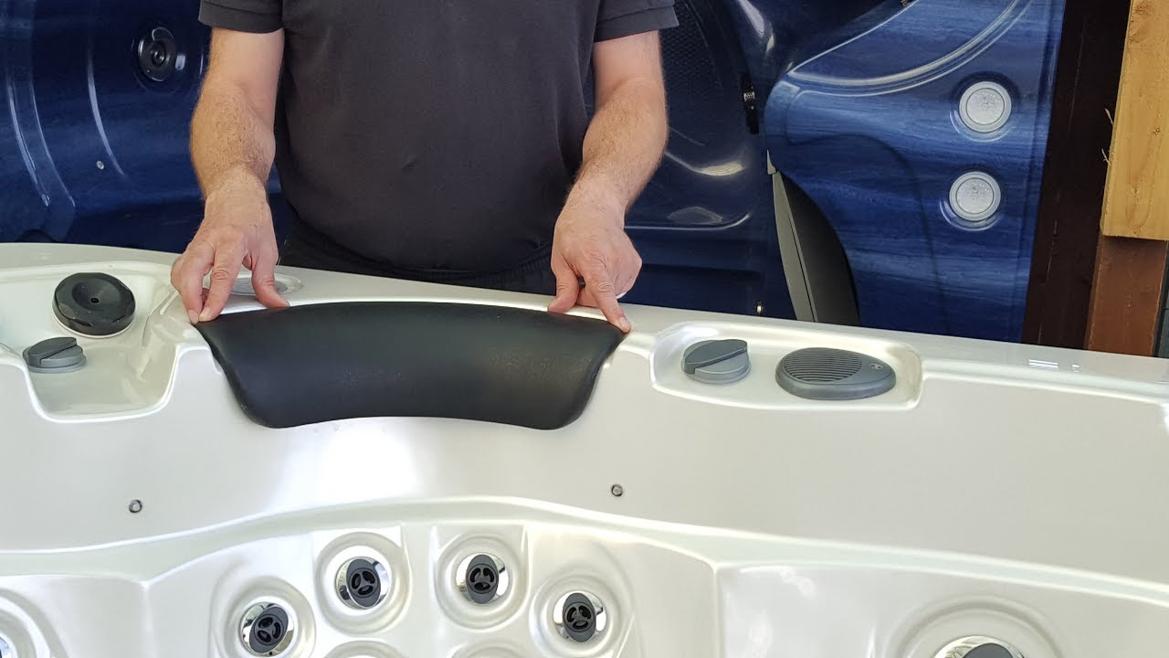 Correctly Removing & Replacing Headrests On a Hot Tub Tutorial by ...