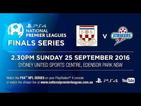 PS4 NPL Semi Final - Sydney United 58 FC v Brisbane Strikers