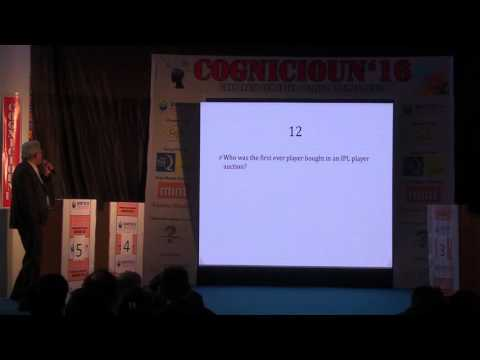 Cognicioun'16 - the corporate cum inter college business quiz  @ BIMTECH
