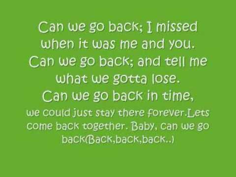 Can We Go Back NLT With Lyrics