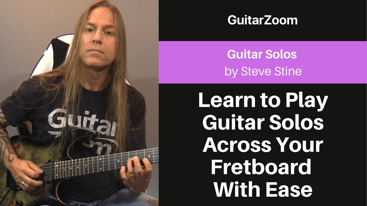 Learn to Play Guitar Solos Across Your Fretboard With Ease | Guitar Solos Workshop