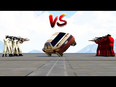 WHITE vs RED (2 WHEELS) GTA 5 ONLINE