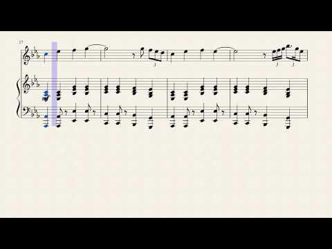 Celine Dion - Ashes - Flute Sheet Music
