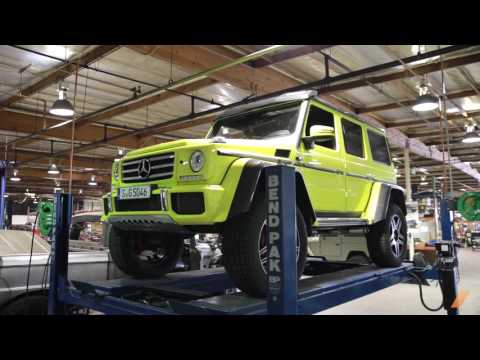 What's Underneath The Mercedes G500 4×4 Squared? — /DRIVE MOMENT
