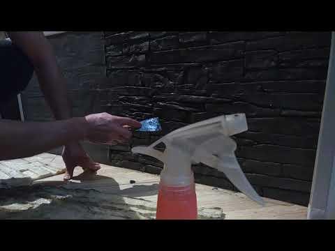 Декоративный камень из плиточного клея своими руками