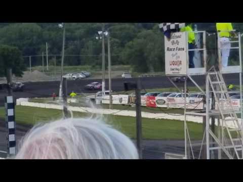 Abby Hacker @ Fiesta City Speedway- Heat 8.9.17, Part 2