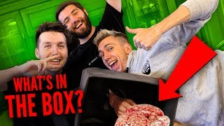 WHAT'S IN THE BOX CHALLENGE with ZERKAA