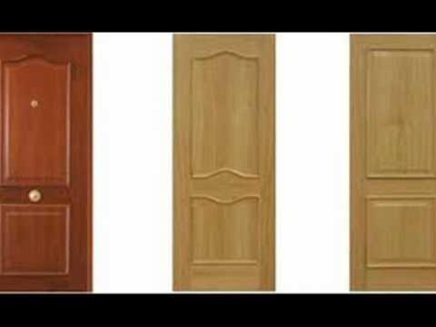 Puertas de madera youtube for Modelos de puertas de madera para dormitorios