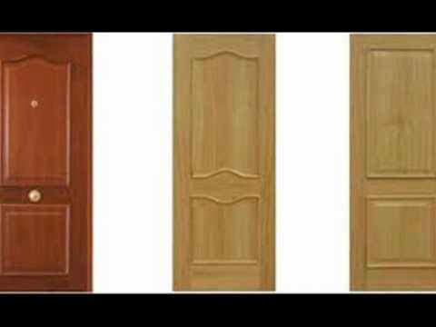 Puertas de madera youtube for Puertas para recamaras modernas