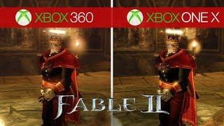 Fable 2 Comparison - Xbox 360 vs. Xbox One X