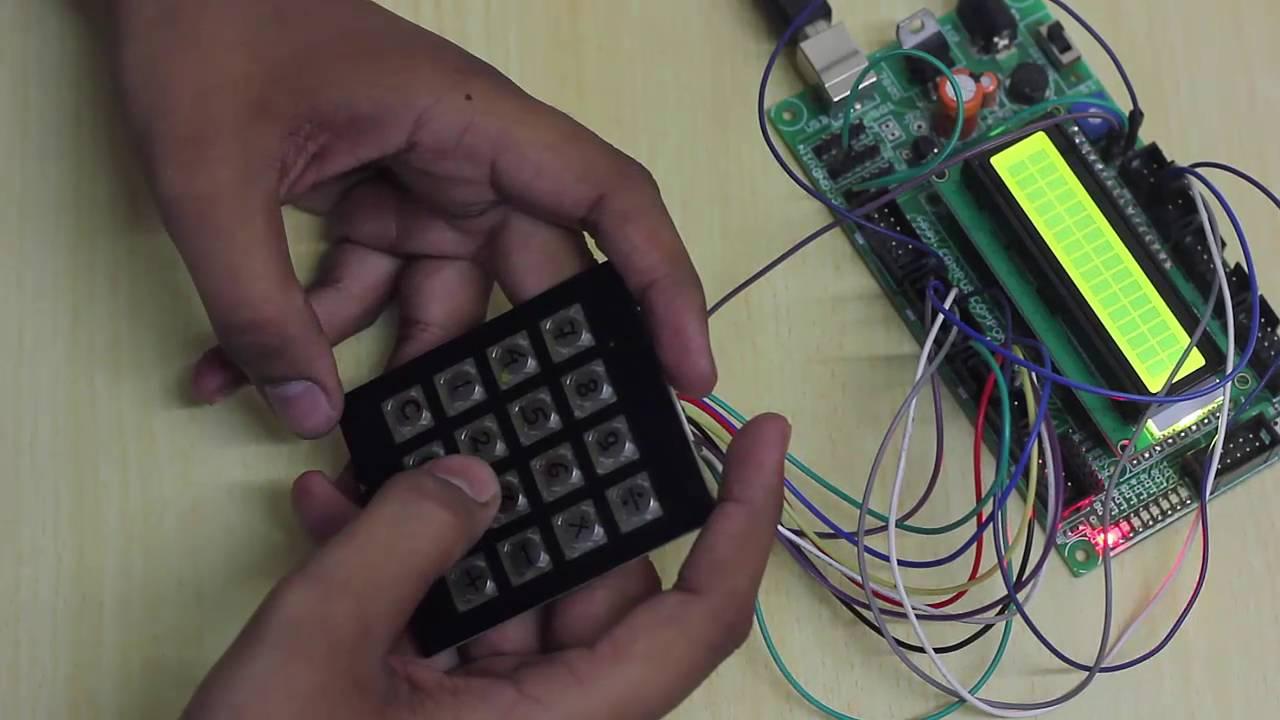Calculator Using Pic Micro Controller