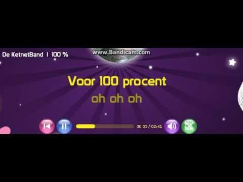 Ketnetband - 100% (Karaoke)