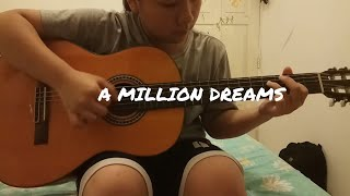 Download Lagu A Million Dreams  - The Greatest Showman (Fingerstyle guitar cover by Megan Alexis) Mp3