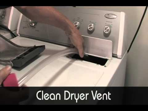 How To Clean A Dryer Vent With The Vaccuflex 174 Vacuum