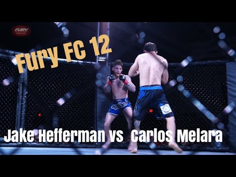 FFC 12 Jake Heffernan vs Carlos Melara