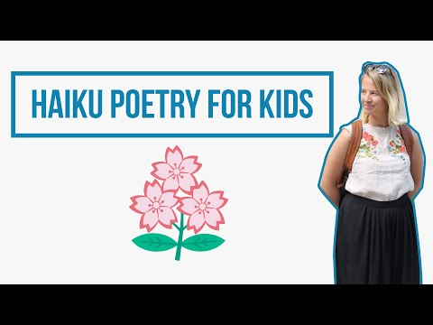 Haiku: Poetry Writing For Kids // Learning From Home