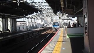 京成3050形3052F四ツ木駅高速通過※接近メロディー「燃えてヒーロー1番線通過Ver」あり