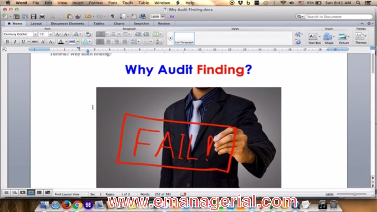 why audit finding