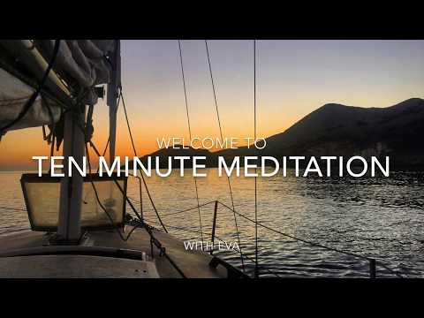 10 MINUTE MEDITATION: Re-align, feel centered, heal your body, love yourself, feel your POWER