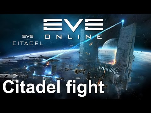 EVE Online – sisi – citadel fight test