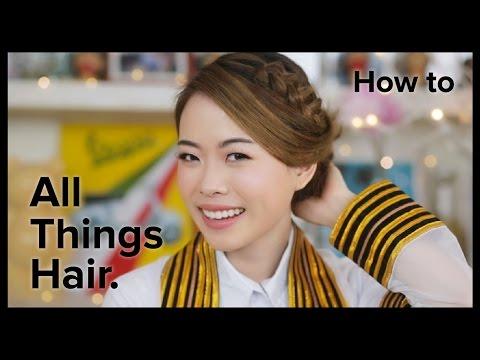 ทำผมรับปริญญา ผมสั้น 3 ทรงง่ายๆ โดย Jane | All Things Hair – How to