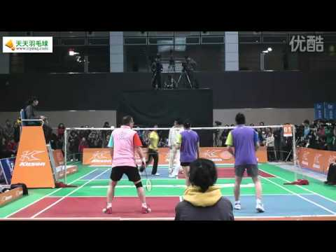 Cai yun & Fu Hai feng play 3 VS 3