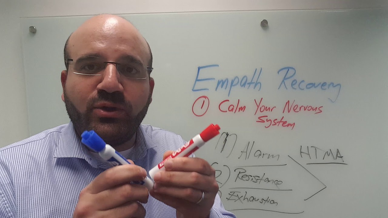 The Empath In Recovery: Step 1 - Calm Your Nervous System
