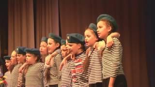 Композиция «Синева» в исполнении ансамбля «Голубые береты»